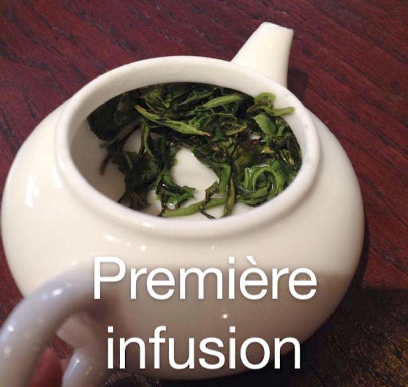 Première eau green tea
