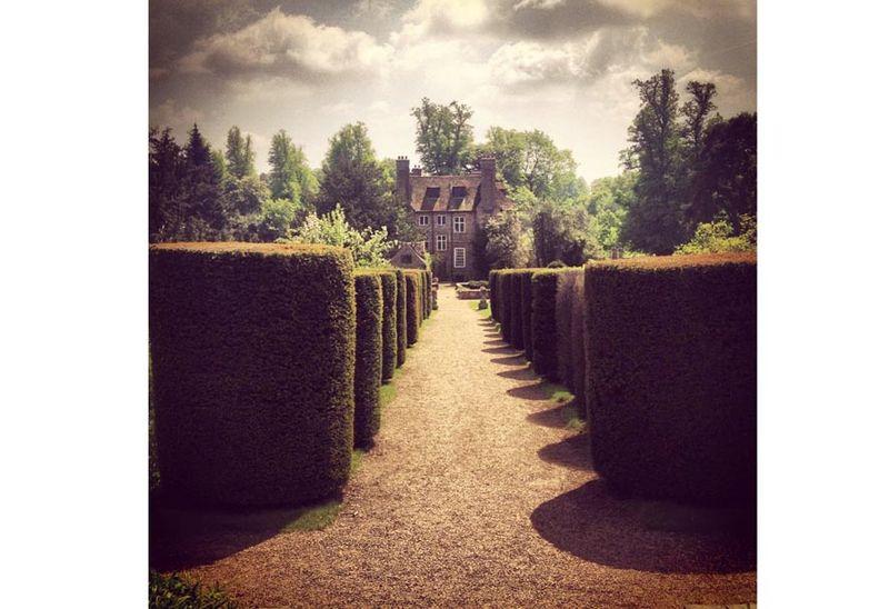 Allée fuyante jardin UK