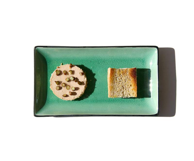 Foie gras à l'hovénie sucrée