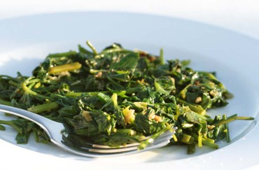 Water_spinach_garlic_sake