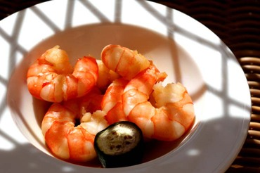 Shrimp_crevette_rose_ponzu