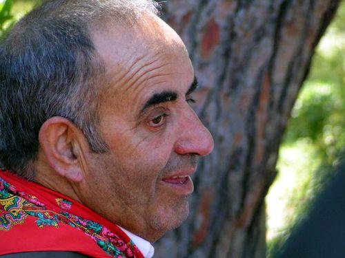 Sr. Joaquim du groupe choral de Cercal