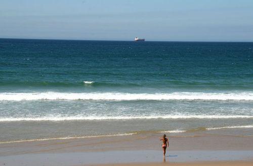 Empty beach  plage vide