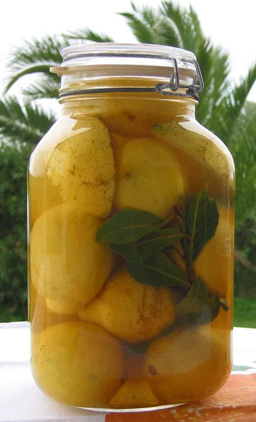citron au sel citron en saumure la cuisine du jardin. Black Bedroom Furniture Sets. Home Design Ideas
